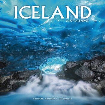 Kalendář 2022 Island