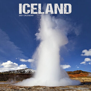 Kalendář 2021 Island