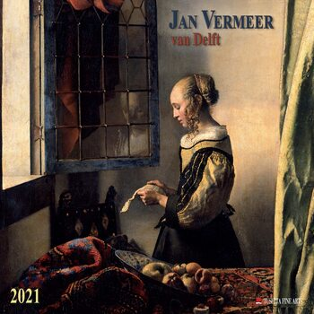 Kalendář 2021 Jan Vermeer van Delft