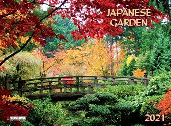 Kalendár 2021 Japanese Garden