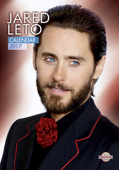 Kalendár 2017 Jared Leto
