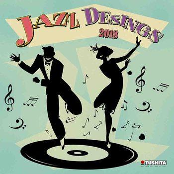 Kalendár 2018 Jazz Designs