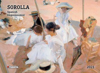 Kalendář 2021 Joaquín Sorolla - Spanisch Impressionist