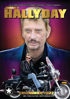 Kalendář 2022 Johnny Hallyday
