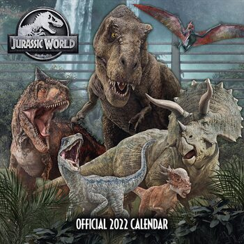 Kalendář 2022 Jurassic World