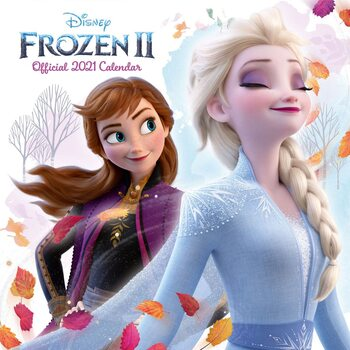 Kalendár 2021 Ľadové kráľovstvo 2