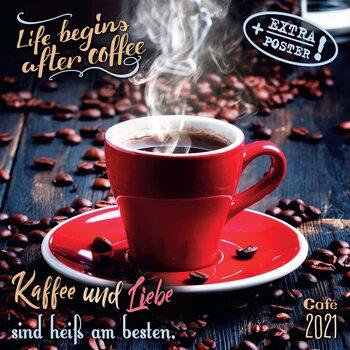 Kalendár 2021 Káva