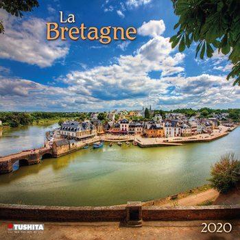 Kalendár 2020  La Bretagne