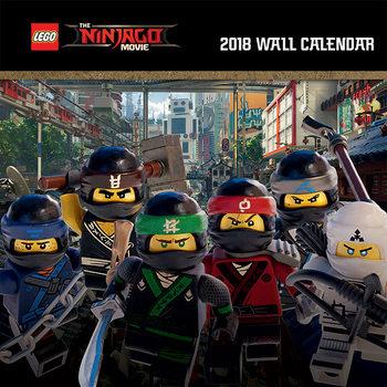 Kalendár 2018 Lego Ninjago Movie