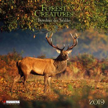 Kalendář 2019  Lesní Zvířata