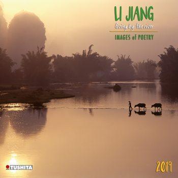 Kalendář 2019  Li Jiang - život u řeky