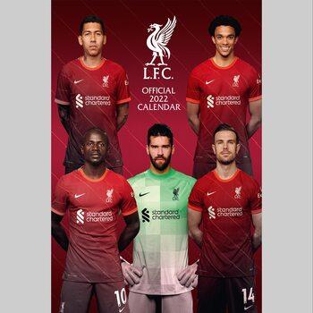 Kalendář 2022 Liverpool FC