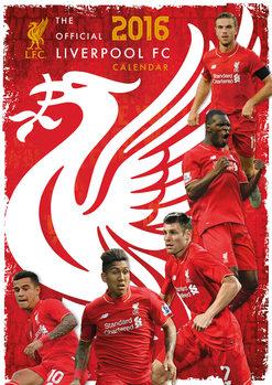 Kalendár 2017 Liverpool FC