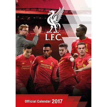 Kalendář 2017 Liverpool