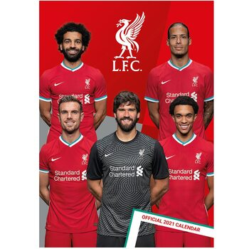 Kalendár 2021 Liverpool
