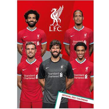 Kalendář 2021 Liverpool