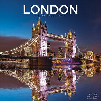 Kalendář 2022 Londýn