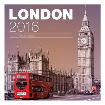 Kalendár 2021 Londýn