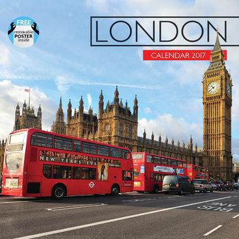 Kalendář 2017 Londýn