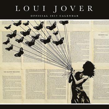Kalendář 2017 Loui Jover