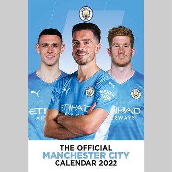 Kalendář 2022 Manchester City FC