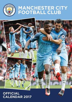 Kalendář 2017 Manchester City
