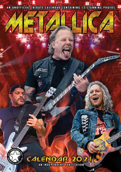 Kalendář 2021 Metallica
