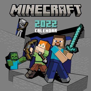 Kalendář 2022 Minecraft
