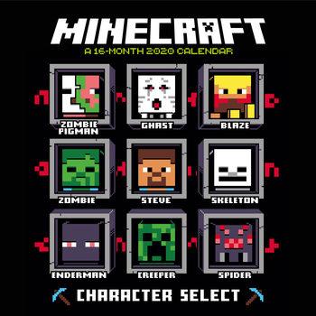 Kalendár 2020 Minecraft