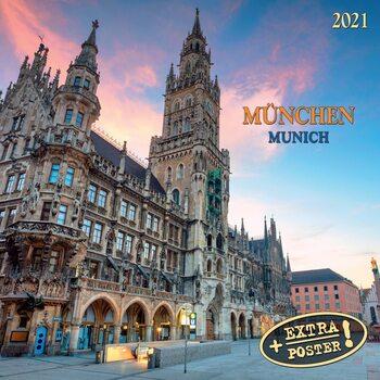 Kalendář 2021 Mnichov