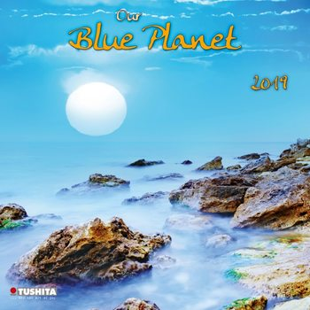 Kalendář 2019  Modrá Planeta