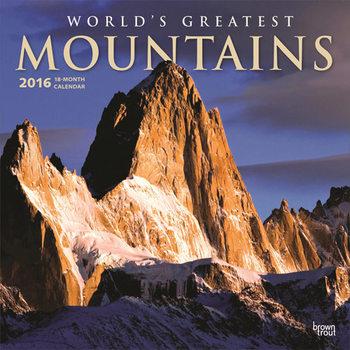 Kalendár 2021 Najvyššie hory světa