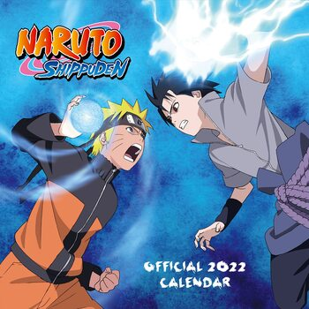 Kalendář 2022 Naruto Shippuden