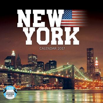 Kalendář 2017 New York
