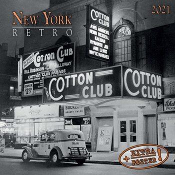 Kalendár 2021 New York Retro