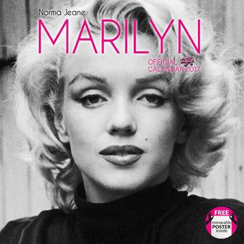 Kalendář 2017 Norma Jeane (Marylin)