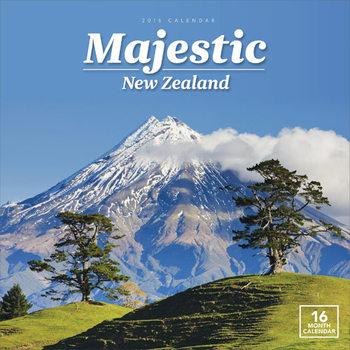 Kalendár 2021 Nový Zéland