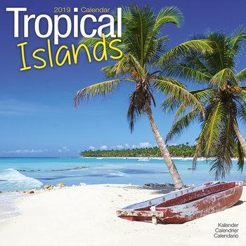 Kalendář 2019  Ostrovy