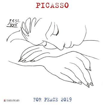 Kalendář 2019  P. Picasso - War and Peace
