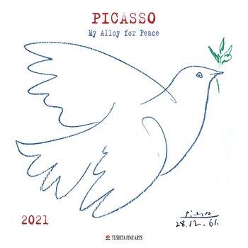 Kalendář 2021 Pablo Picasso - My Alloy For Peace