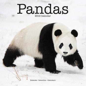 Kalendár 2019  Pandas