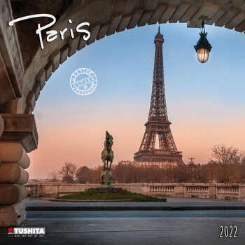Kalendář 2022 Paříž