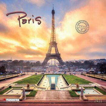 Kalendář 2021 Paříž