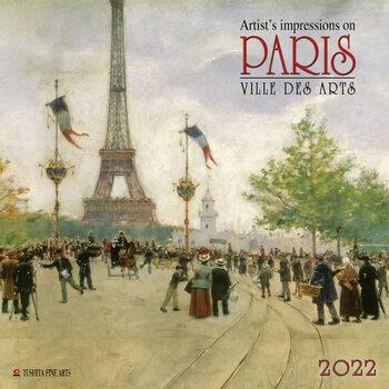 Kalendář 2022 Paříž - Ville des Arts