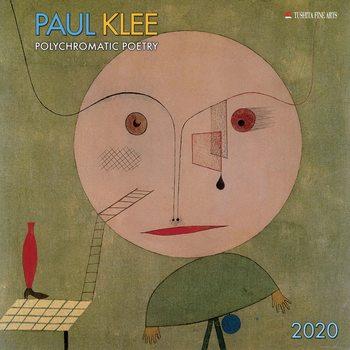 Kalendář 2020  Paul Klee - Polychromatic Poetry