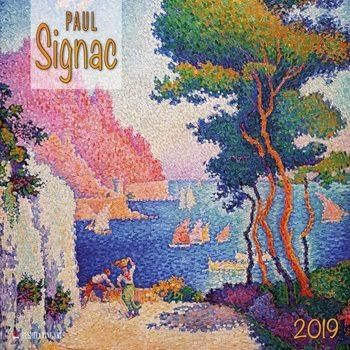 Kalendár 2019  Paul Signac