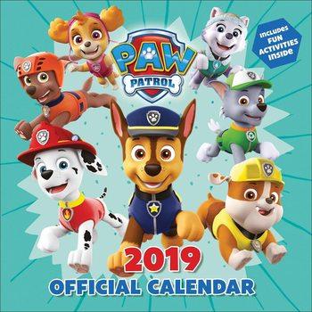 Kalendář 2019  Paw Patrol