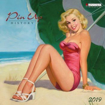 Kalendář 2019  Pin Up - Historie