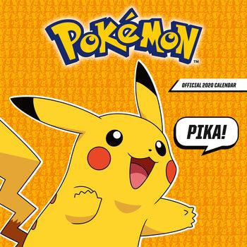 Kalendár 2020 Pokemon
