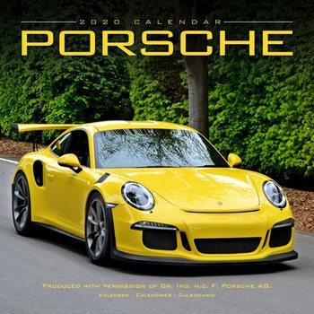 Kalendář 2020  Porsche